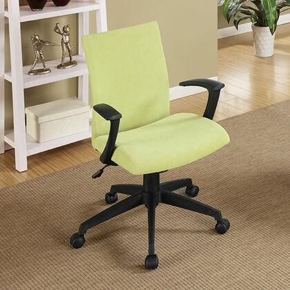 Crofter CM-FC635GR Office Chair with Swivel Bar Stool with Armrests  Fabric Seat  Height Adjustable in