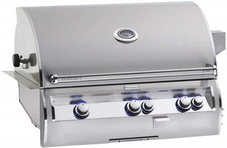 E790I4-LAP Echelon Diamond Series Built-In Gas Grill with Hot Surface Ignition  Left Infrared Searing Burner  Rotisserie Backburner  792 Sq. In. Cooking Area