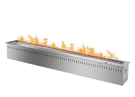 RCFB12K 48 inch  Smart Burner Collection Bio Ethanol Fireplace Insert with Remote Controlled Smart Burner  13 600 BTU - 36 400 BTU  CO2 Sensor and Insulated Bottom