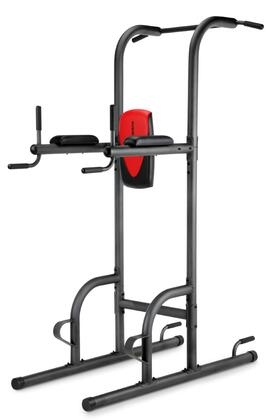 WEBE99712 Weider 200 Power Tower with Pull-Up Station  Push-Up Station  Dip Station  and Vertical Knee Raise