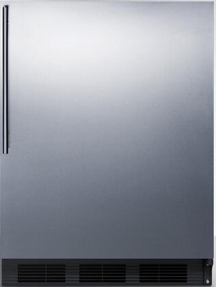 CT66BSSHV 24 inch  CT66J Series Medical Compact Refrigerator with 5.1 cu. ft. Capacity  Dual Evaporator  Zero Degree Freezer Compartment  Cycle Defrost  Crisper and