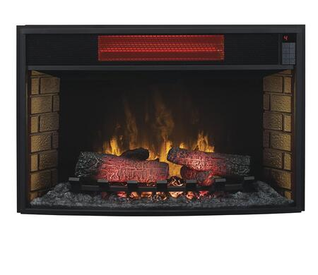 """32II310GRA 32"""" Infrared Spectrafire Plus Electric Fireplace Insert with Fan Mode Remote Control Auto Shut-Off Timer and Safer Plug Fire Prevention Technology"""