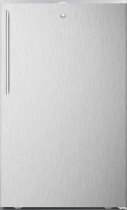 FS407L7BISSHV 20 inch  Upright Freezer with 2.8 cu. ft. Capacity  4 Pull-Out Storage Drawers  Reversible Door  Factory Installed Lock and Manual Defrost  in