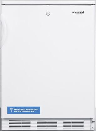 FF7LBI 24 inch  FF7BI Series Medical  Commercially Approved Freestanding or Built In Compact Refrigerator with 5.5 cu. ft. Capacity  Hidden Evaporator  Auto Defrost