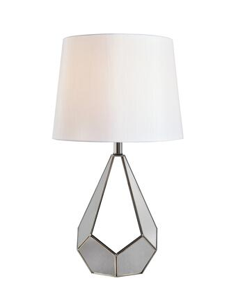 Gemma 33188SS Table Lamp with On/Off Socket Switch  14.5