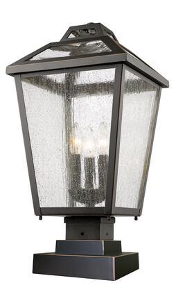 Bayland 539phbs Orb 11 3 Light Outdoor Post Mount Light