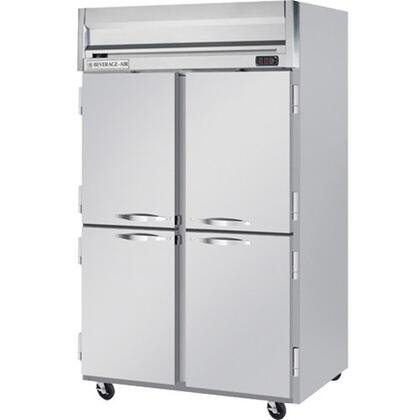 HRPS2-1HS Horizon Series Two Section Solid Half Door Reach-In Refrigerator  49 cu.ft. capacity  Stainless Steel Exterior and