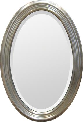 MT279 31x21 Magnolia Mirror with Resin Frame in