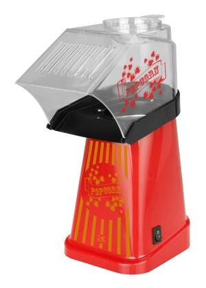PCM 42472 R Red Healthy Hot Air Popcorn