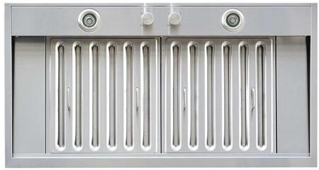 WS-69TS42SS 42 inch  Cabinet Insert with 780 CFM  9.6 Sones  3 Speed  35W Halogen