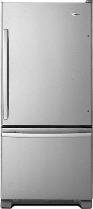 Amana 18.6 Cu. Ft. Bottom-Freezer Refrigerator Stainless steel ABB1924BRM