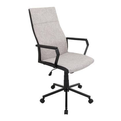 OFC-AC-CN T+T Congress Height Adjustable Office Chair with Swivel in