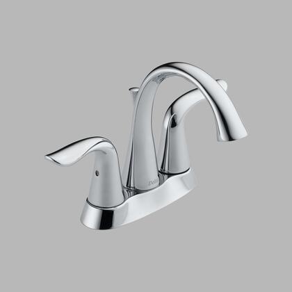 Lahara 2538-mpu-dst Delta Lahara: Two Handle Centerset Lavatory Faucet Metal Pop-up In