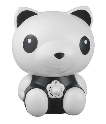 SPT - Cute Animal Series Panda 0.48 Gal. Ultrasonic Cool Mist Humidifier - Black/White SU-3883
