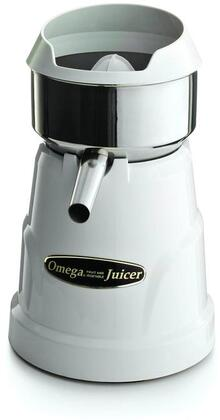 C-10W Citrus Juicer with 150 RPM  3 Different Size Juicing Cones and Non-Slip Feet in