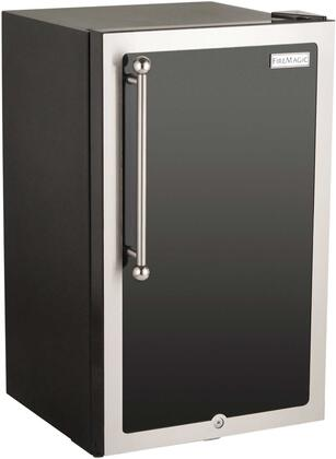 3590H-DR Echelon Black Diamond Series Outdoor Compact Refrigerator  in Black and Right