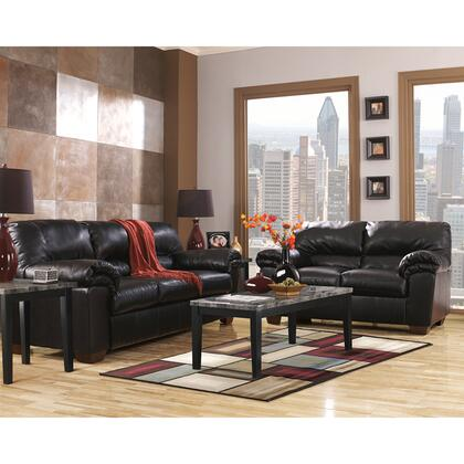 Signature Design by Ashley Commando Leather Living Room Set