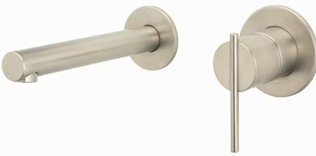 LK6156NK Allure Series Contemporary / Modern Single Handle Mini-Widespread Wall Mount Lavatory