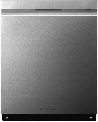 "LG 24"" Top Control Built-In Dishwasher with Stainless Steel Tub Textured steel LUDP8997SN"