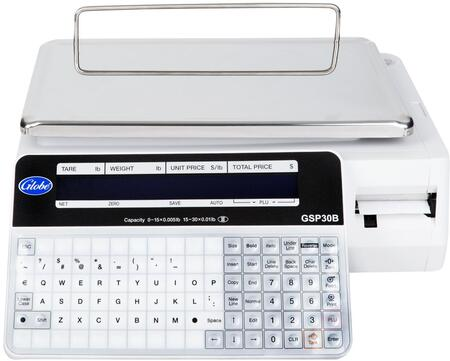 GSP30B Legal for Trade Label Printing Scale with Dual LCD Display and USB
