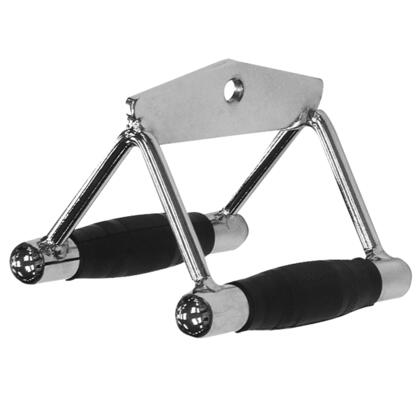 Body Solid Tools MB502RG Seated Row and Chin Bar Combo with Solid Steel Construction  Heavy-Duty Welded Flange and Rubber