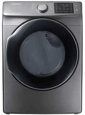 "DVE45M5500P 27"" Front-Load Electric Dryer With 7.5 cu. ft. Capacity DOE  Energy Star Certified  Multi-Steam Technology  Vent Sensor  Sensor Dry  4 Temperature"