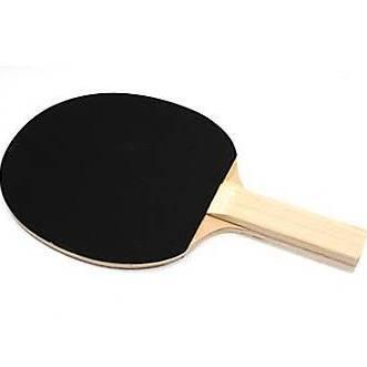 T1201 Sandy Table Tennis Racket with Straight Handle and Multi-ply