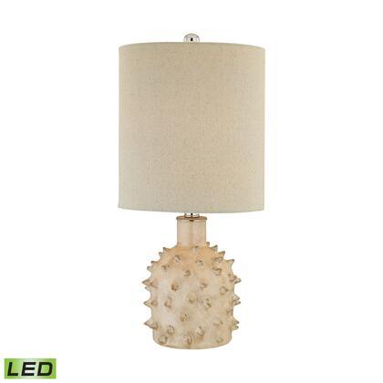 D2918-LED Kankada 1 Light LED Table Lamp in Cumberland Cream Crackle
