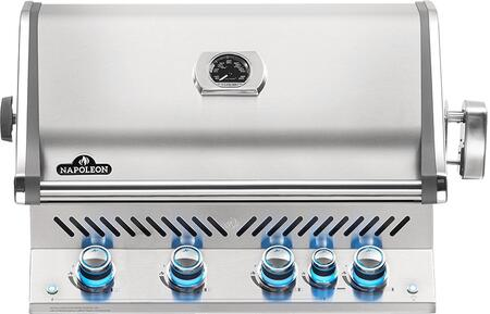 Napoleon BIPRO500RBPSS3 Prestige Pro 500 Built-in Propane Gas Grill with Infrared Rear Burner
