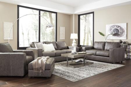 Trembolt Collection 28901SLCO 4-Piece Living Room Set with Sofa  Loveseat  Chair and Ottoman in