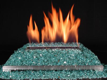 DF-GM30-BG 15 Pound Fireplace Glass:
