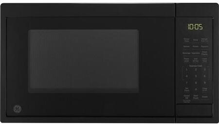 JES1095DMBB 19 Countertop Microwave Oven with .9 cu. ft. Total Capacity  Kitchen Timer  10 Power Levels  Turntable  Auto and Time Defrost  in