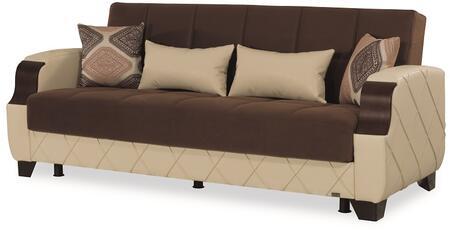 Molina Collection MOLINA SOFABED DARK BROWN / CREAM 79