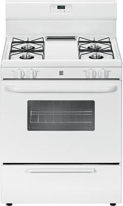 73032 30 Freestanding Gas Range with 4 Burners  4.2 cu. ft. Oven Capacity  Broil & Serve Drawer and Steel Grates in