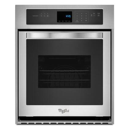 WHIRLPOOL WOS51ES4ES 3.1 Cu. Ft. Single Wall Oven with High-Heat Self-Cleaning System
