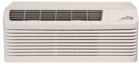 PTH093G35AXXX 9 000 BTU Packaged Terminal Air Conditioner with 8 300 BTU Heat Pump  Electric Heat Backup  11.5 EER  R410A Refrigerant  2.2 Pts/Hr 318993
