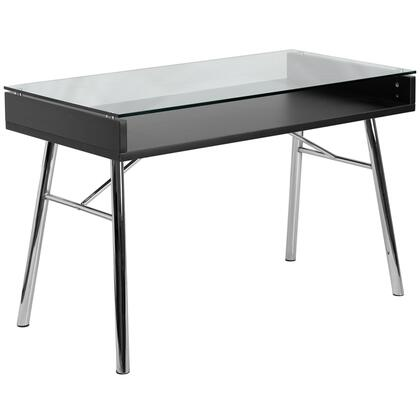 NAN-JN-2966-GG Brettford Desk with Tempered Glass