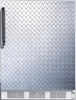 FF7BIDPLADA 24 inch  FF7BIADA Series ADA Compliant  Medical  Commercially Approved Freestanding or Built In Compact Refrigerator with 5.5 cu. ft. Capacity  Seamless
