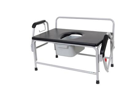 11132-1 Bariatric Extra Wide Drop Arm Bedside