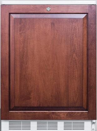FF6LBI7IF 34 inch  FF6BI7 Series Medical  Commercially Listed Freestanding or Built In Compact Refrigerator with 5.5 cu. ft. Capacity  Front Door Lock  Interior