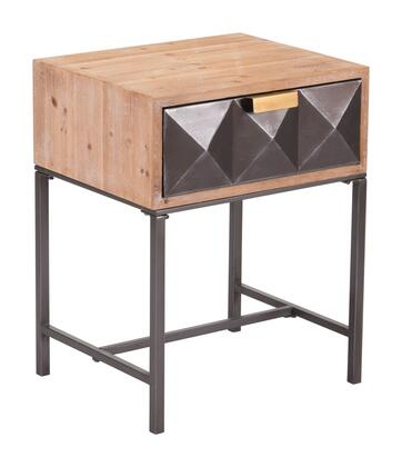 A10691 Black End Table
