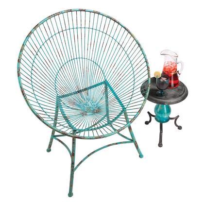 FU73258 Saint Tropez Metal Hoop Garden Chair