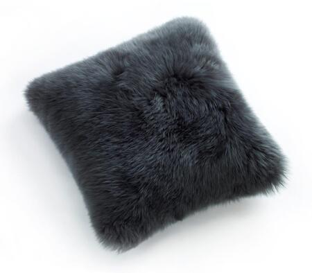 Auskin CLS35F-ST 14 inch  Square Sheepskin Wool Cushion in