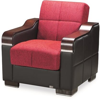 Uptown Collection UPTOWN ARMCHAIR RED 24-581 32