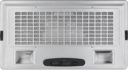 JVC3300JSA 30 Cabinet Insert Hood with 390 CFM Blower  3 Speed Control and Dual Incandescent Lighting in