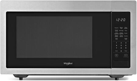 Whirlpool WMC30516HZ 1.6 cu. ft. Countertop Microwave in Fingerprint Resistant Stainless Steel with 1,200-Watt Cooking Power