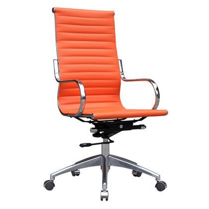 FMI10227-ORANGE Twist Office Chair High Back