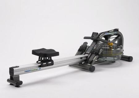 Trident-AR Commercial Fluid Rower with Multilevel Computer and Adjustable Fluid