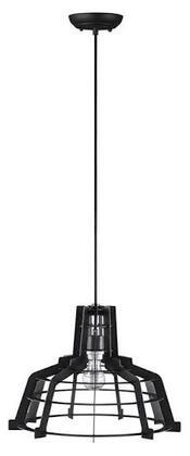 LIP18EDGEBL Industrial Edge Slice Hanging Pendant Light Lamp in