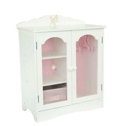 TD-0210A Teamson Kids - Little Princess 18 Doll Furniture - Fancy Closet with 3